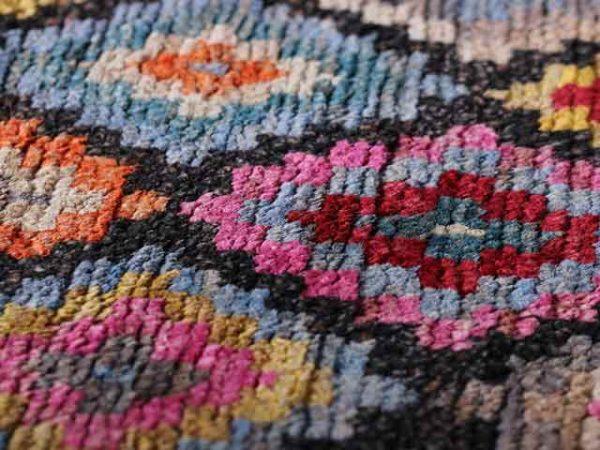 Bunter Teppich Velma 888 aus Jute und Wolle von Rugs&More, Jute-Teppiche